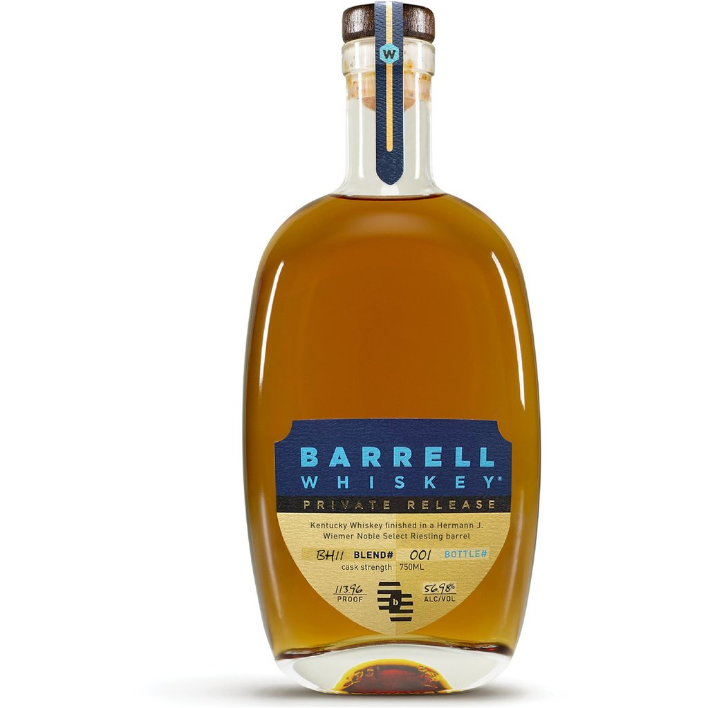 Barrell Whiskey Private Release BH11 Finished In A Hermann J. Wiemer Noble Select Riesling Barrel