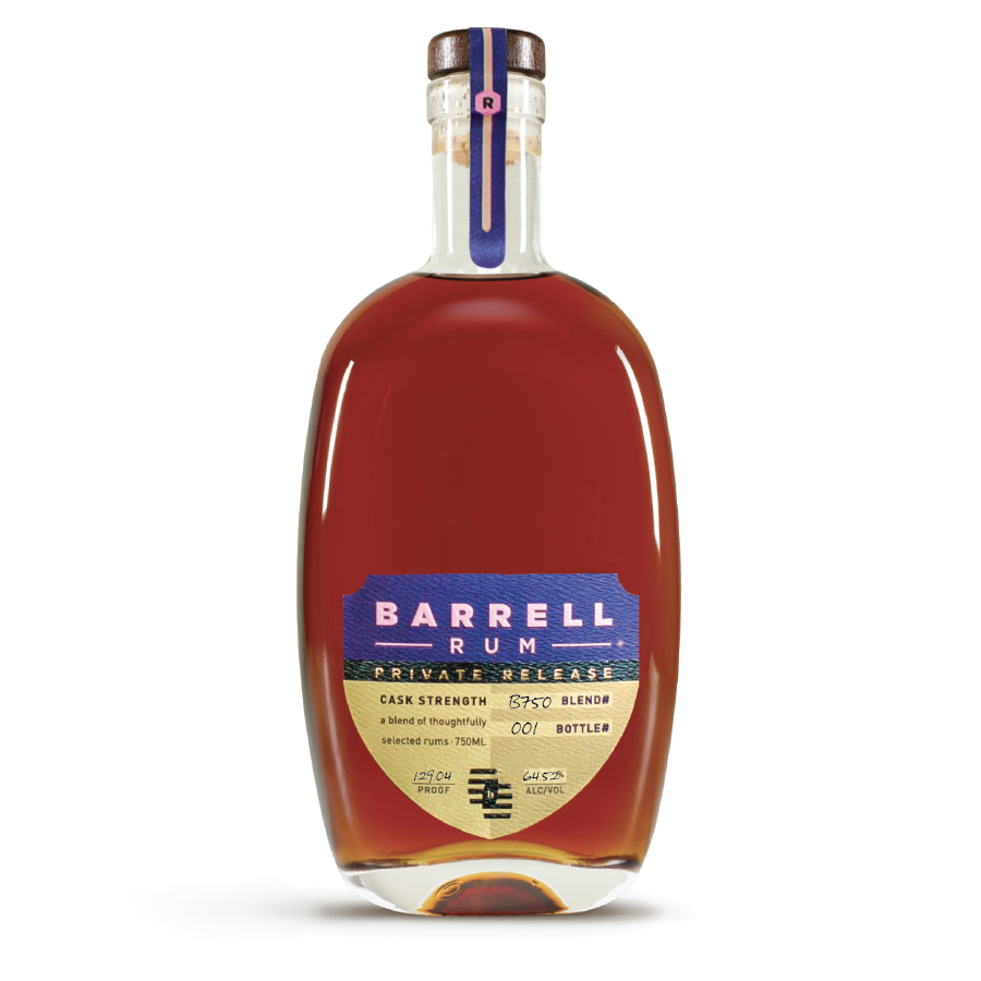 barrell rum private release B750-01