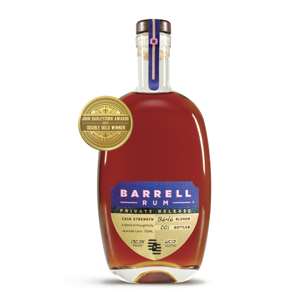 Barrell Private Release Rum B646 Finished in a Ruby Port Barrel