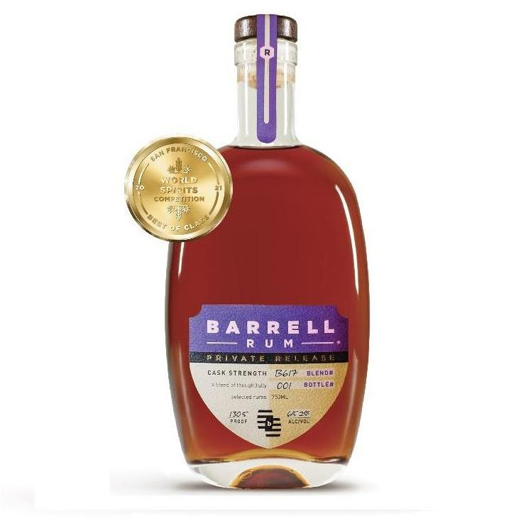 Barrell Rum Private Release B617 Finished in a Pedro Ximenez Sherry Barrel